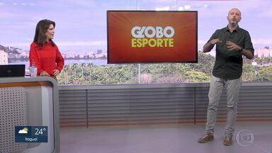 Veja o bloco do Globo Esporte no RJ1 desta sexta-feira, 31/07/2020 - Veja o bloco do Globo Esporte no RJ1 desta sexta-feira, 31/07/2020