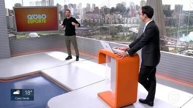 Veja o bloco do Globo Esporte no SP1 desta sexta-feira, 31/07 - Veja o bloco do Globo Esporte no SP1 desta sexta-feira, 31/07
