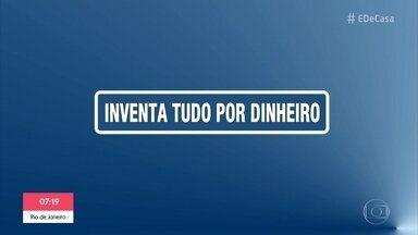 O humor de Marcelo Adnet na quarentena - O comediante faz paródia no 'Sinta-se em Casa'