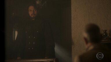 Antônio conta a Chalaça sobre a gravidez de Domitila - Ele se mostra furioso e preocupado com sucesso de seu plano
