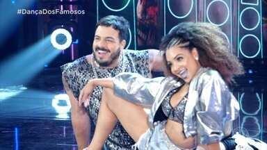 Francielle Pimenta é uma das estrelas do balé no 'Domingão' - 'Domingão' homenageia as bailarinas