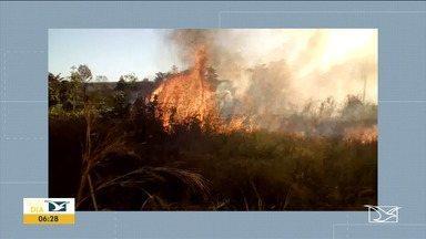Em 15 dias foram registradas mais de 500 queimadas no MA - Imperatriz ocupa o segundo lugar no ranking dos municípios com mais acidentes causados por fogo