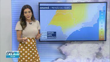 Veja a previsão do tempo para esta terça-feira (4) na região de Ribeirão Preto - Tempo seco continua, sem chance de chuva próxima.