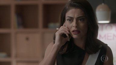 Dorinha avisa a Carolina da prisão de Eliza - undefined