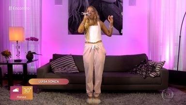 Luísa Sonza canta ´Braba´ - Confira!