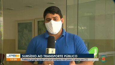 Prefeitura de Campina Grande propõe ajudar empresas de ônibus para que o serviço não pare - Gestão quer oferecer um subsídio.