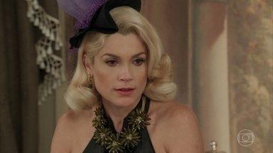 Sandra expulsa Celso da mansão - O rapaz se abriga na casa de Pancrácio. Ele encontra Jack ao sair da mansão e avisa a Anastácia e Candinho