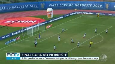 Bahia enfrenta o Ceará na final da Copa do Nordeste nesta terça; confira preparação - Já na quarta-feira (5), o tricolor baiano vai jogar na final do 'Baianão'.