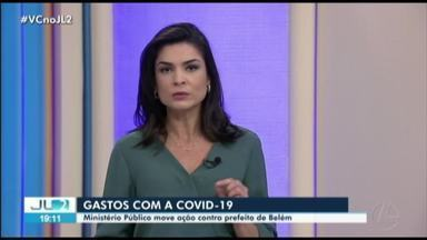 MP move ação contra prefeito de Belém, Zenaldo Coutinho, por improbidade administrativa - Segundo MP, Coutinho realizou contratos emergenciais não publicados no portal da transparência durante a pandemia de coronavírus.