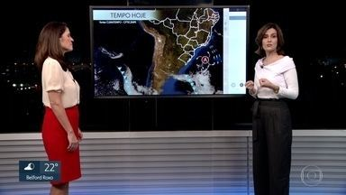 Previsão do tempo - Semana de tempo estável. Tardes quentinhas e madrugadas geladas.