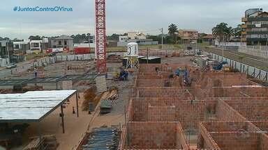 Mesmo com a pandemia, construção civil oferece novos empregos e registra crescimento no RS - Facilidades para negociar um imóvel e procura por mais conforto impulsionam os negócios.