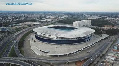 Grêmio e Inter se encontram pela segunda vez após a volta do futebol no RS - Dupla se enfrenta na decisão do segundo turno do Gauchão. Nesta quarta (5), a RBS TV transmite a partida, ao vivo, às 21h30.