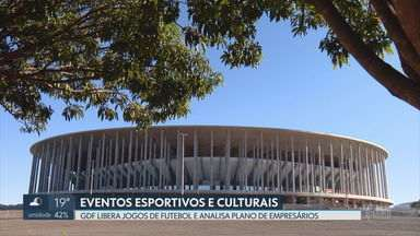 Governo autoriza volta dos jogos de futebol profissional nos estádios do DF - Segundo os números da Secretaria de Saúde, já são 1.572 mortes e 113.930 casos confirmados da COVID-19 no Distrito Federal.