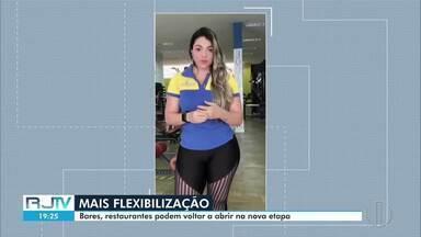 Bares, restaurantes e academias podem reabrir na nova etapa de flexibilização de Campos - Os empresários desses setores já fizeram as modificações necessárias para o retorno das atividades. Município está na fase amarela atualmente.