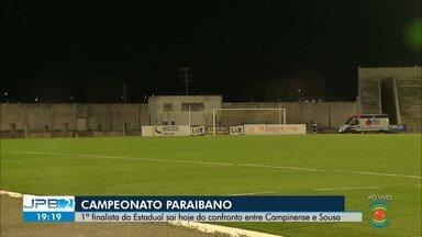 1º finalista do Estadual sai hoje do confronto entre Campinense e Sousa - Jogo acontece no Estádio Amigão