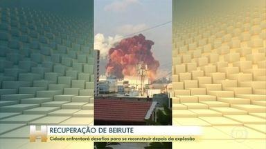 Guga Chacra: Beirute enfrentará desafios para se reconstruir depois da explosão - O comentarista da Globo News fala como deverá ser os próximos dias e a recuperação da cidade.