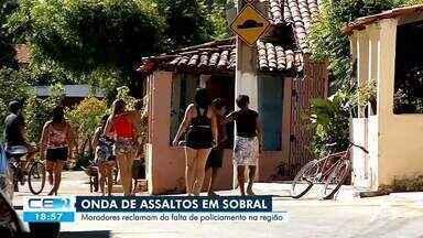 Onda de assaltos em Sobral - Saiba mais em: g1.com.br