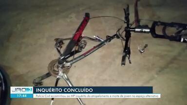 Três pessoas são indiciadas pelo atropelamento que resultou na morte de ciclista - Inquérito foi concluído pela Delegacia de Homicídio de Porto Velho sobre o atropelamento resultado de um suposto racha
