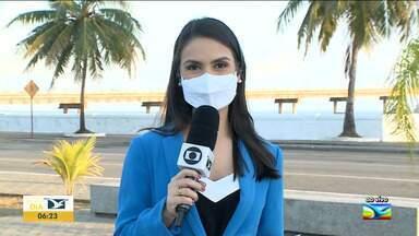 Governo distribui chips para estudantes da 3ª série da rede pública no Maranhão - Repórter Camila Marques tem mais informações sobre o assunto na manhã desta quinta-feira (6).