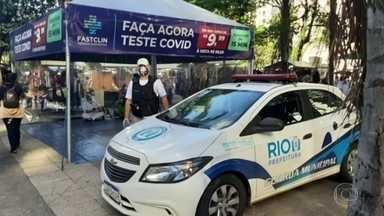 Vigilância Sanitária fecha postos irregulares de teste rápido de Covid - Eles não têm autorização para aplicar os testes ou o fazem de foram errônea.
