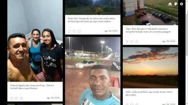 Bom dia Amazônia - Veja a participação dos telespectadores desta quinta-feira, 06/08/2020. - Envie uma foto para o número 991140429.