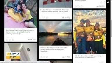 Bom dia Amazônia - Veja a participação dos telespectadores desta quinta-feira, 06/08/2020. - Quer aparecer no jornal? Envie uma foto para a produção através do número 991140429.