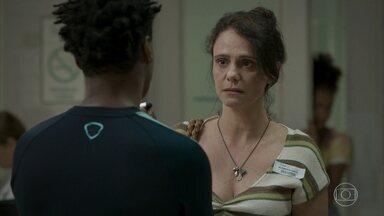 Rosângela pede desculpas a Montanha por tê-lo culpado pelo acidente de Wesley - undefined