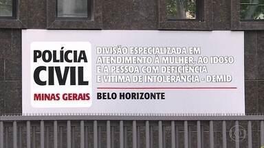 Minas Gerais enfrenta a subnotificação da violência contra a mulher - O estado só tem uma delegacia 24 horas para atender essas vítimas, que fica na capital, Belo Horizonte.
