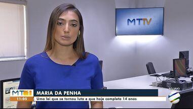 Maria da Penha uma lei que se tornou luta e que hoje completa 14 anos - Maria da Penha uma lei que se tornou luta e que hoje completa 14 anos