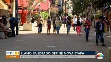Governo do Estado de São anuncia nova etapa do Plano São Paulo - Região de Presidente Prudente deve permanecer na fase laranja e a região de Marília deve ir para a fase amarela.