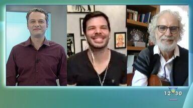 Jonas Almeida entrevista o cantor e compositor Renato Teixeira - Confira como foi a conversa.