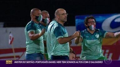 Campeão pernambucano, técnico do Salgueiro sonha em treinar clube da Série A - Campeão pernambucano, técnico do Salgueiro sonha em treinar clube da Série A