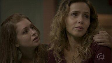 Eliza convida Gilda para morar com ela - Cordeiro anuncia que vai tomar posse do bar e oferece emprego para Gilda