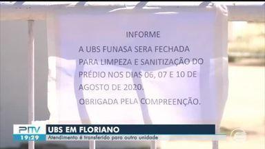 UBS é fechada após funcionários serem infectados por coronavírus em Floriano - UBS é fechada após funcionários serem infectados por coronavírus