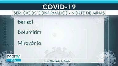 Covid-19: Sete municípios da área da Inter TV Grande Minas não têm casos - Apenas 2% dos municípios brasileiros não possuem casos da doença.