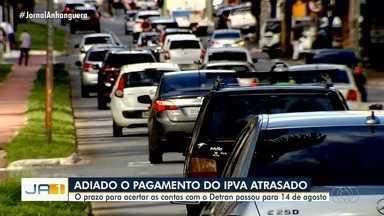 Governo de Goiás estende prazo para pagamento de IPVA sem cobrar multa por atraso - Inicialmente, imposto para veículos com placas de 0 a 6 deveria ter sido quitado até o dia 6.