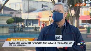 Bares e restaurantes podem reabrir a partir desta segunda em São José - Estabelecimentos devem permanecer fechados aos finais de semana.