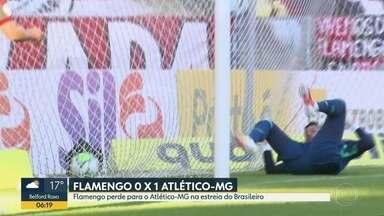 Flamengo perde na estreia do Brasileirão - Fluminense também perdeu pro Grêmio