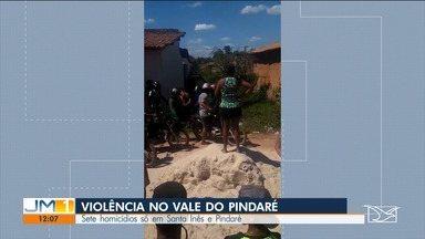 Sete homicídios são registrados durante o fim de semana no Vale do Pindaré - O fim de semana foi de muita violência na região dos municípios de Santa Inês e Pindaré-Mirim.