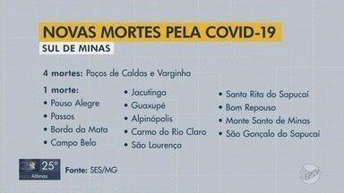 Sul de Minas passa dos 12 mil casos e chega às 300 mortes por Covid-19, aponta Estado - Sul de Minas passa dos 12 mil casos e chega às 300 mortes por Covid-19, aponta Estado