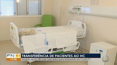 Pacientes do Hospital Regional devem ser transferidos para o Hospital do Câncer - Objetivo é liberar leitos no HR para ampliar os atendimentos aos pacientes com o novo coronavírus.