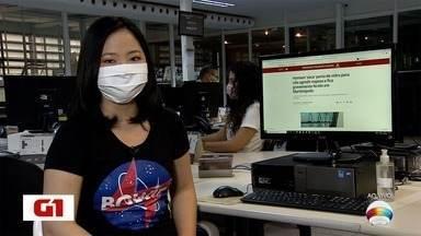 Heloise Hamada traz os destaques do Portal G1 Presidente Prudente - Saiba o que é notícia nesta segunda-feira (10).