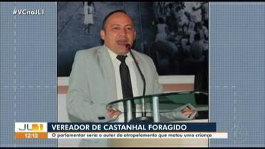 Vereador de Castanhal está foragido após atropelar criança de seis anos em Igarapé-Açu - Vereador de Castanhal está foragido após atropelar criança de seis anos em Igarapé-Açu