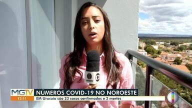 Covid-19: Veja como está a situação no Noroeste de Minas - Na cidade de Urucuia, são 23 casos confirmados e duas mortes. Em Unaí, já são 25 mortes confirmadas.