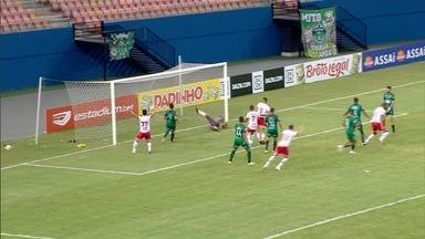 Na estreia da Série C, Vila Nova arranca empate no fim contra o Manaus - Tigrão reage na partida com gol de Rafael Donato