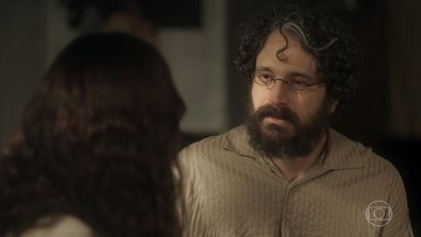 Peter decide ajudar Amália a procurar seu filho - Ela conta como foi o encontro com Sebastião