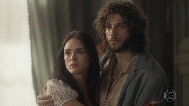 Anna consegue o divórcio e a guarda de Vitória - Thomas protesta, mas o ministro diz que está feito