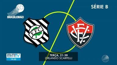 Esporte: Vitória vence na estreia da Série B e agora tem dois jogos fora de casa - Próximo adversário do Jacuipense, Imperatriz tem 12 jogadores positivo para Covid-19.
