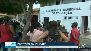 Professores do município de Pindaré-Mirim estão em greve e adia volta às aulas - Volta às aulas seriam via internet.
