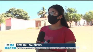 Picos está sem serviço de IML e famílias precisam viajar para liberar corpos de parentes - Picos está sem serviço de IML e famílias precisam viajar para liberar corpos